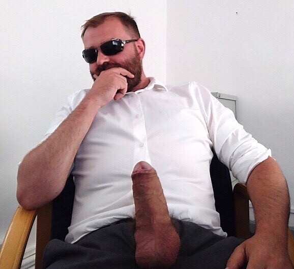 Dad was proud of his cock. He is always showing it off!