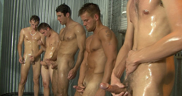 The lesson to learn here boys:  just start jerking in the shower, they're probably going to join you!