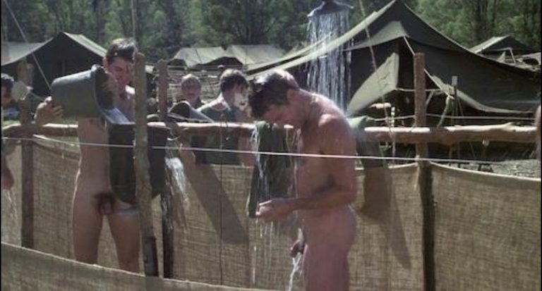 Low man on the totem pole is water boy. But helping 20 men shower has it rewards too!