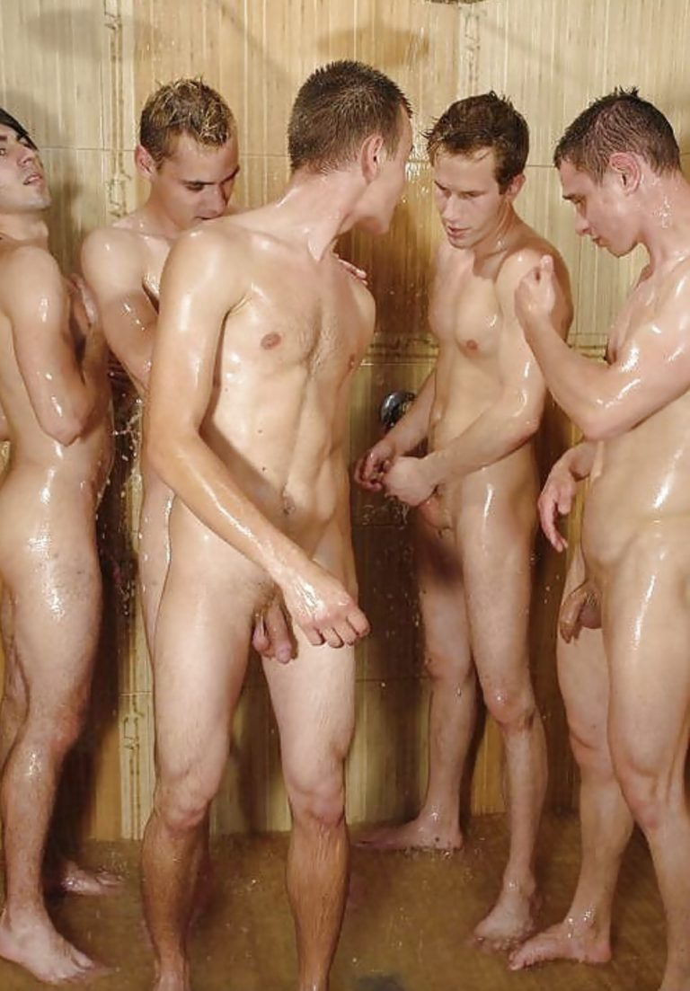 The Davis twins have all the girls chasing them and a few of the boys. Sworn to secrecy,  the guys shower together, daily.