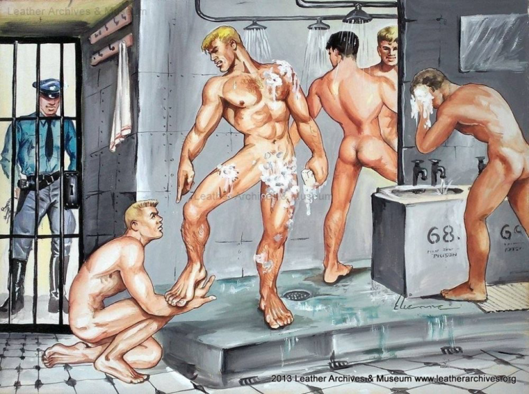 I wonder if the artist took his inspiration from personal experiences? I would love to know the details and location!
