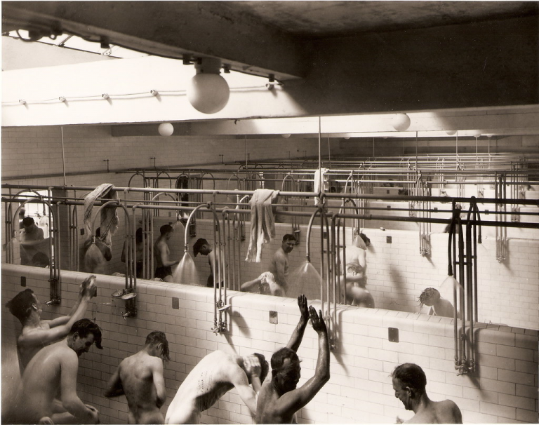 Look closely. Some casual glances look like offers. A group shower for 20 plus…odds are good if not guaranteed!