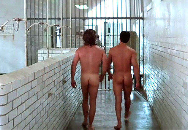 Stallone and Russell strutting down a prison shower scene butt ass naked. Wish I could've been a walk on.